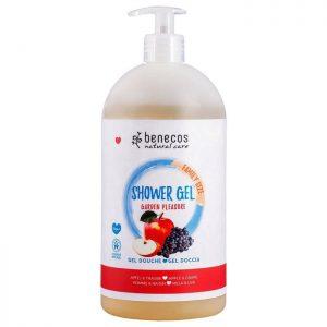 Benecos Natural Shower Gel FAMILY SIZE Garden Pleasure